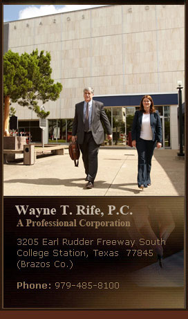 Click Here for KAMU Interview of Wayne Rife