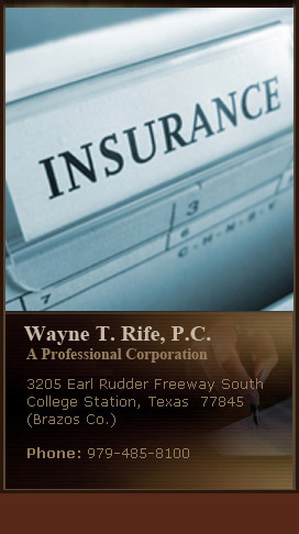Wayne T. Rife- Insruance Defense Attorney